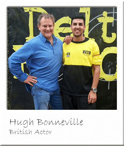 Hugh Bonneville - Paintballing in Surrey