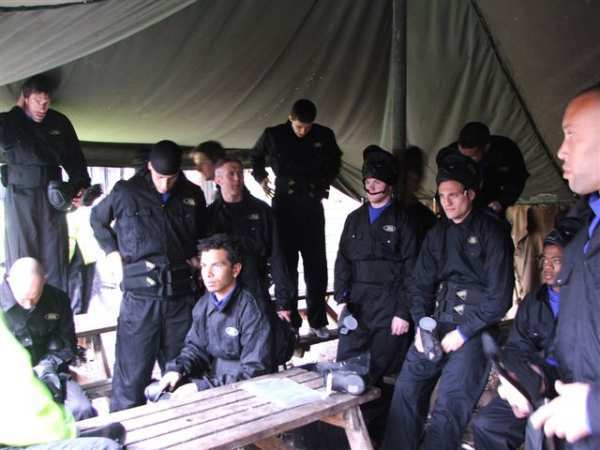 Manchester Paintball Visit by Manchester United