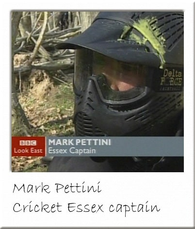 Mark Pettini at Essex Paintball Centre