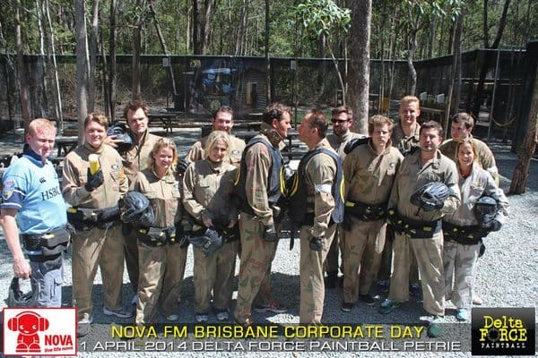 corporate paintball at delta force paintball