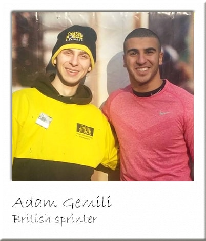 Adam Gemili Paintballing