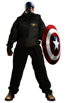 paintball avengers ultron captain america