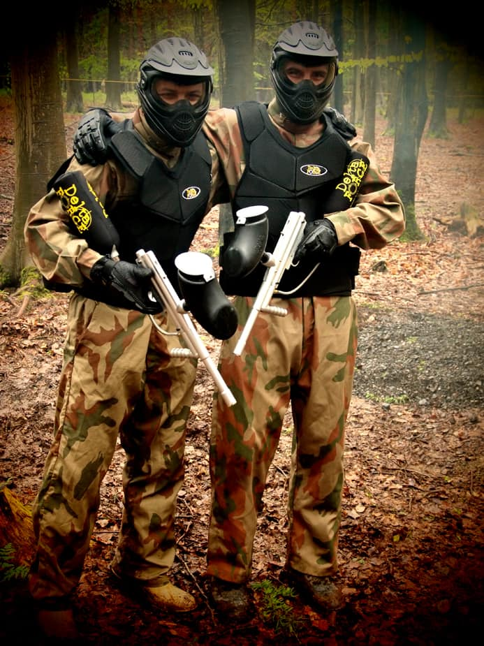Paintball Equipped Players Gloucester