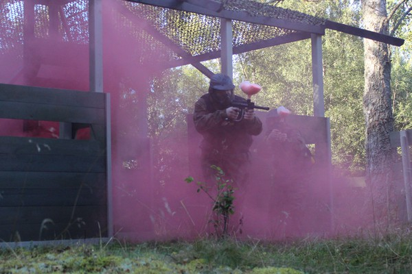 Paintball Grenade Attack