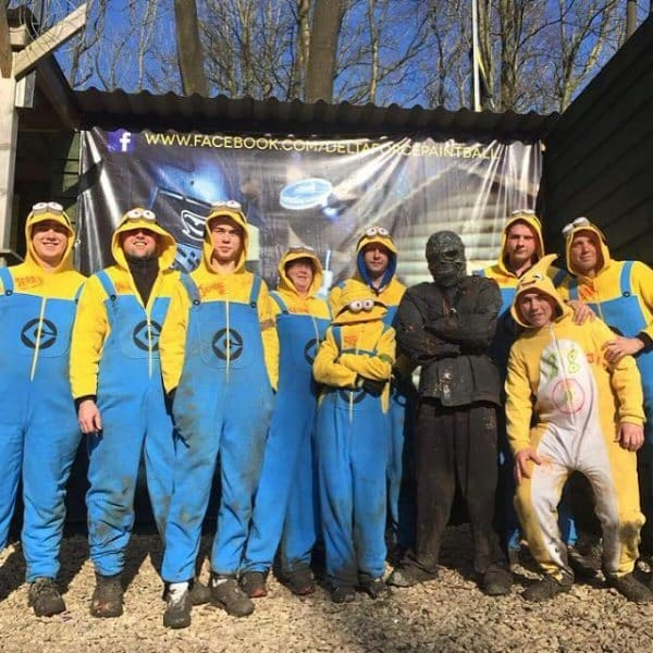 paintball outfits minions