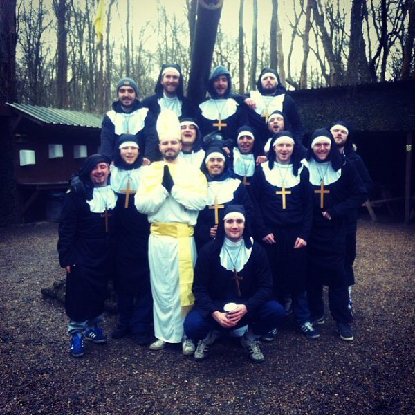 paintball outfits nuns