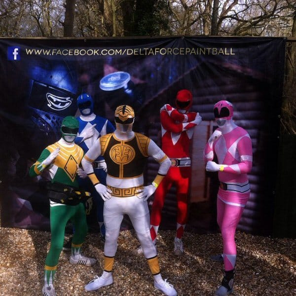 paintball outfits power rangers