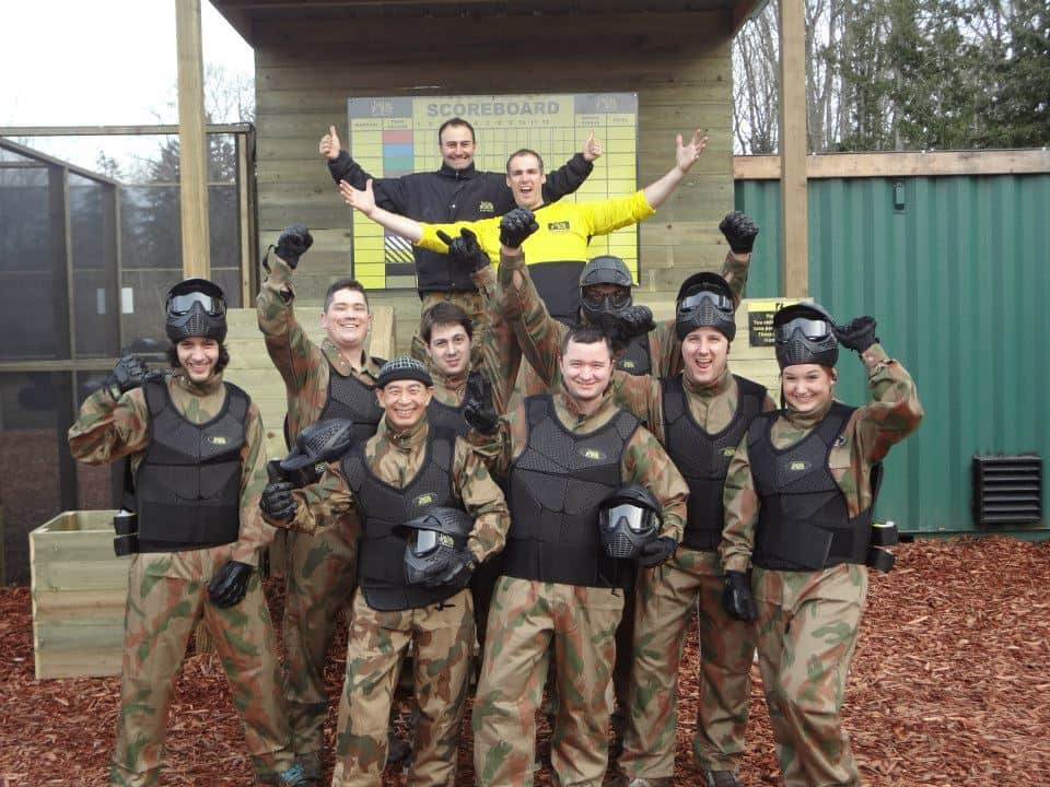 happy paintballer's group bournemouth
