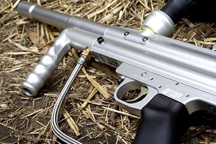 paintballing gun equipment, semi-auto paintball marker