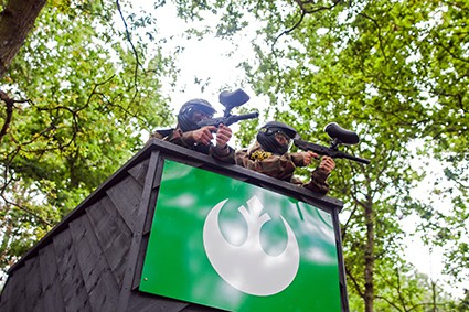 Delta Force Paintball Space Warz Game Zone at Paintball Cobham