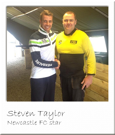 Steven Taylor at Paintball Newcastle