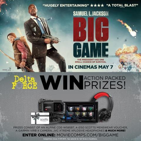 Delta Force Paintball'Big Game' prize draw