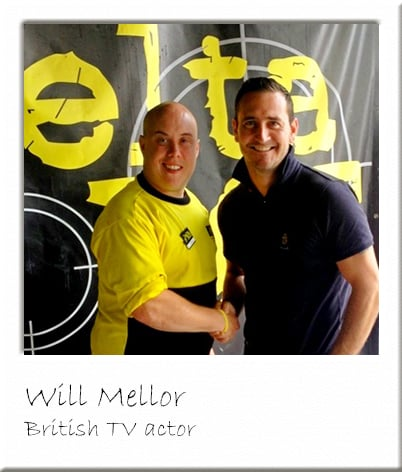 Will Mellor with Paintball Manager
