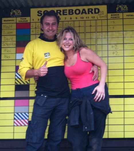 Gemma Bissix and marshal