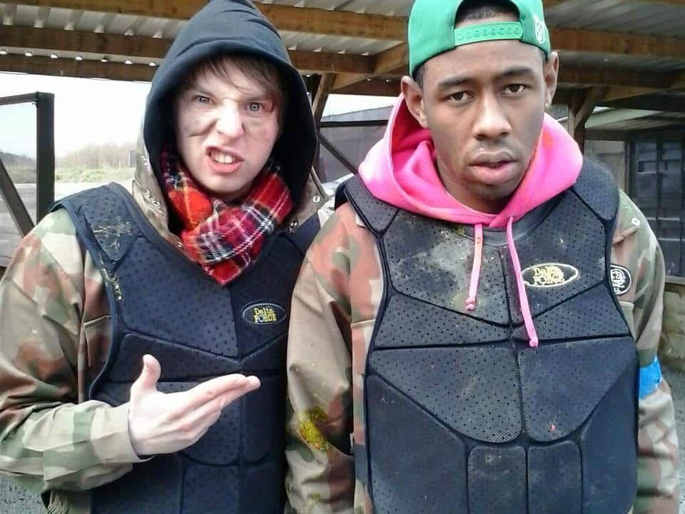 Tyler, the Creator and BBC's Phil Taggart
