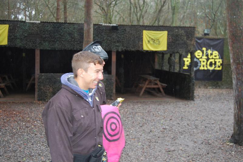 Hampshire's Michael Bates given pink target vest
