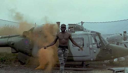 DDark films music video at Delta Force Upminster
