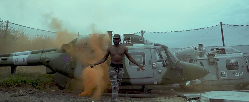 DDark films music video at Delta Force Paintball Upminster