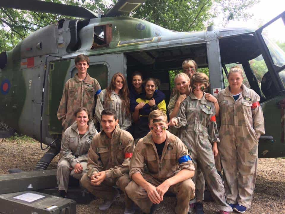 Paintballing-kegworth-helicopter