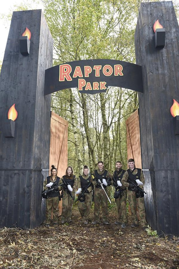 Delta Force paintball gamezone raptor park