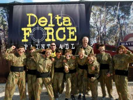 delta force kids school paintball