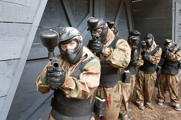 delta force paintball players