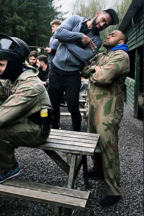 Glasgow warriors delta force paintball
