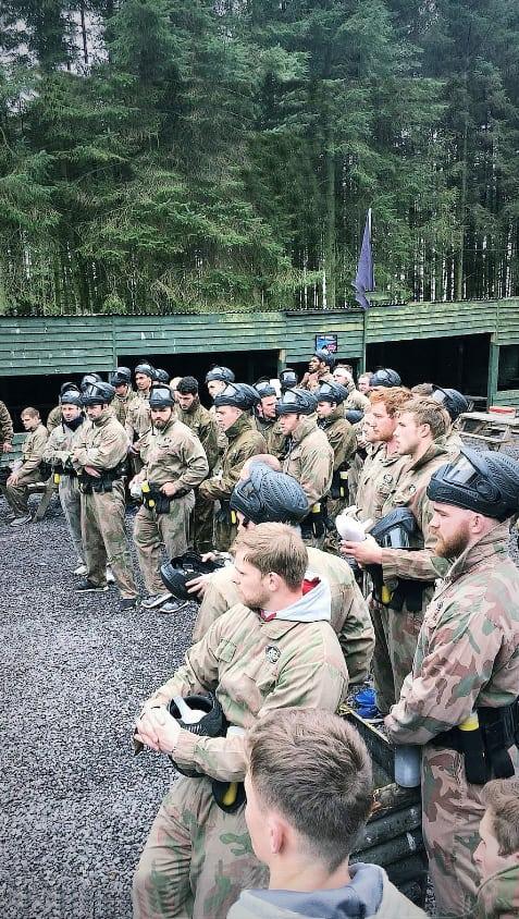 Glasgow warriors rugby team