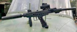 Assault Rifle Paintballing