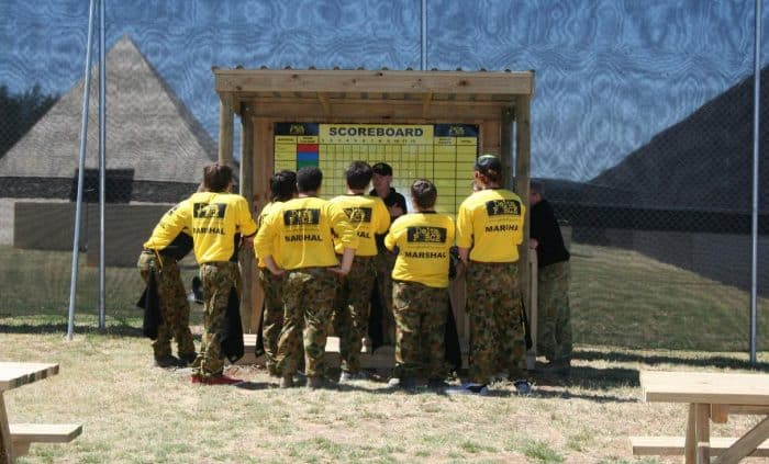 Dellta Force Paintball Front Line Meeting