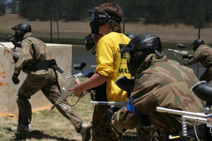 Delta Force Paintball Front Line Players