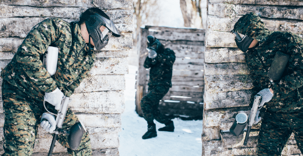 Paintball winter tips